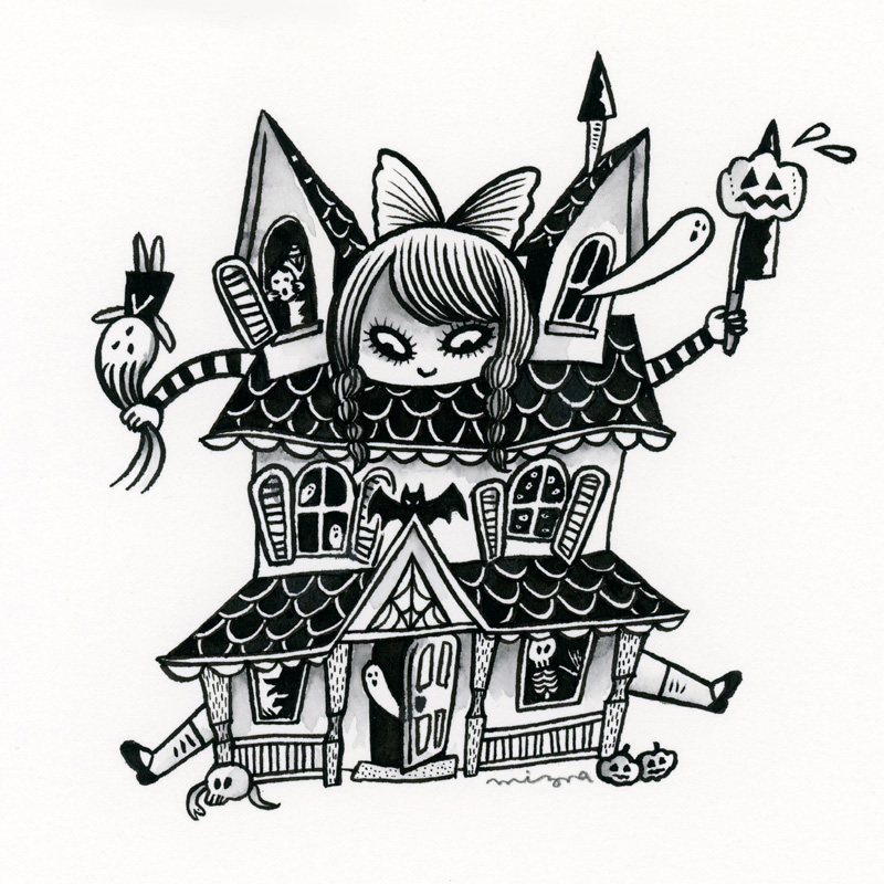 Day7: Haunted House