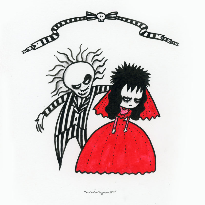 Day31: Tim Burton Tribute - Beetlejuice