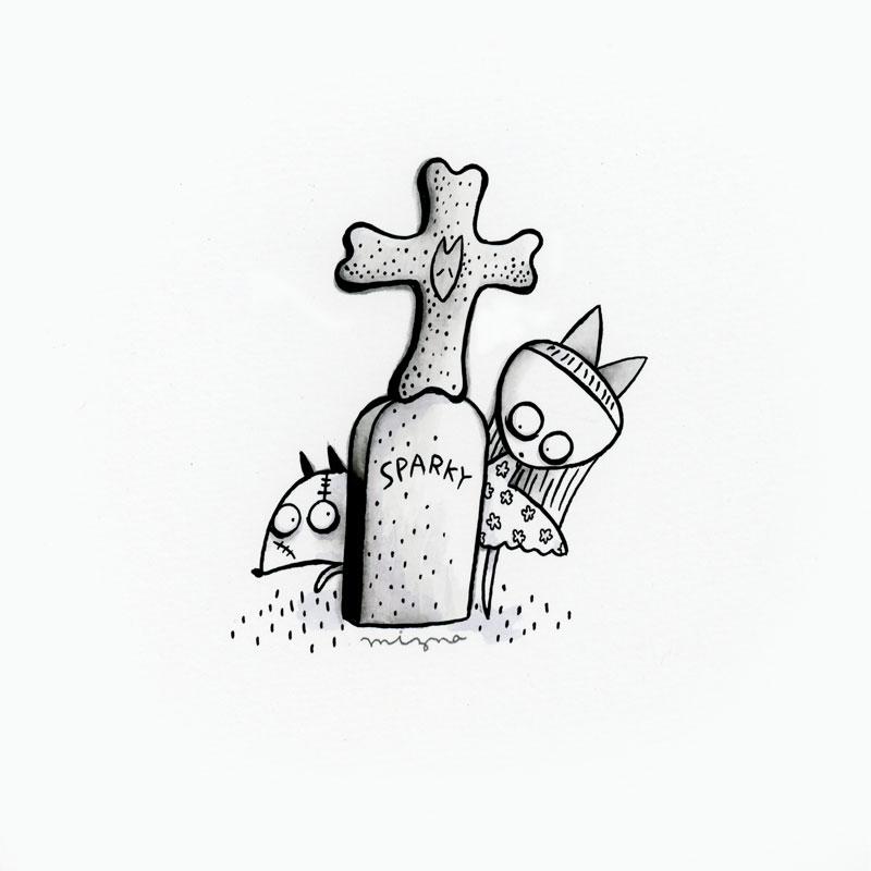 Day31: Tim Burton Tribute - Frankenweenie