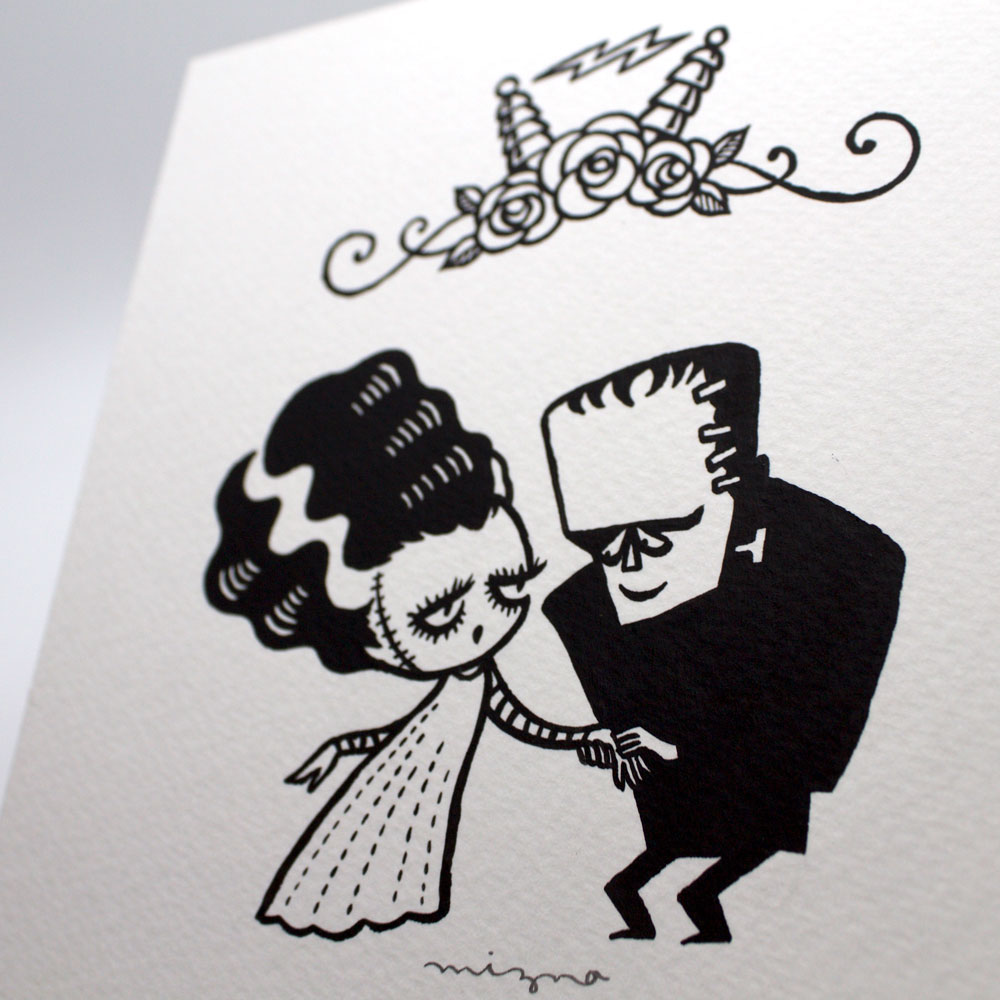 The Monster Meets His Bride